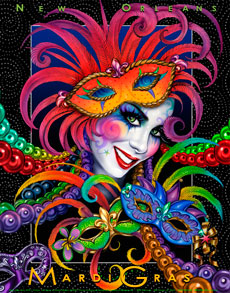 mardi gras graphics