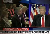 Trump's First Press Conference