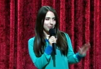 Esther Povitsky doing Hilarious Stand-up